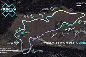 La Extreme E revela el circuito del Arctic X-Prix de Groenlandia