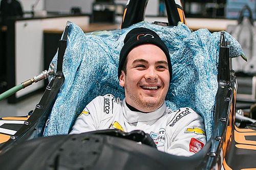 O'Ward realiza su asiento para IndyCar 2020