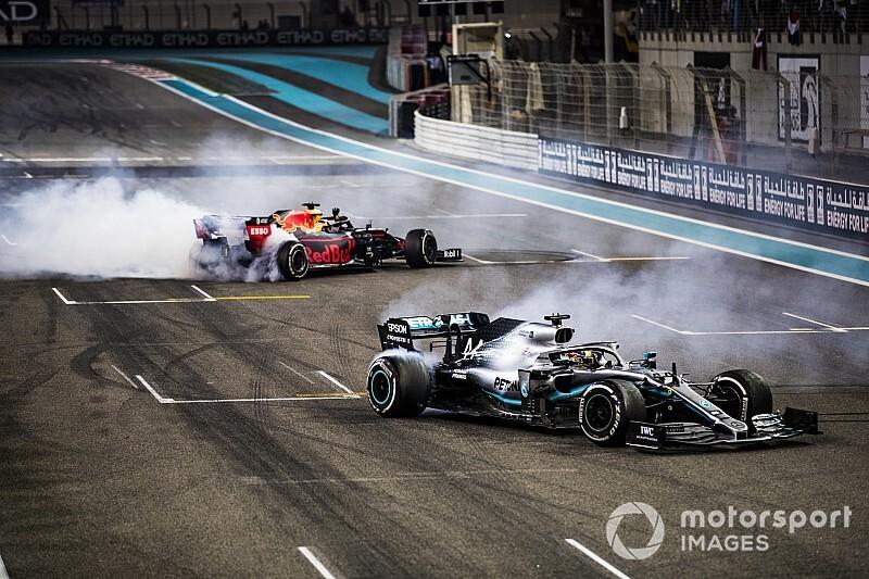 Las mejores fotos de Abu Dhabi, fin de la temporada 2019