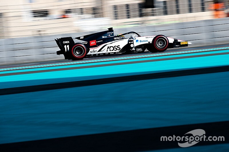 Deletraz fastest again on second day of F2 test