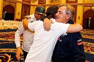 """Sainz sobre Alonso: """"Los campeones actúan como lo está haciendo él"""""""