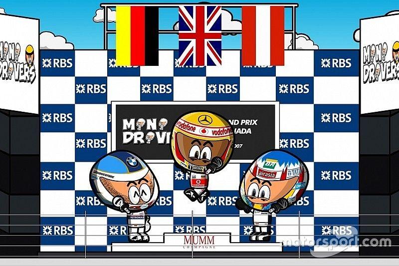 Vídeo vintage: el GP de Canadá 2007 según MiniDrivers