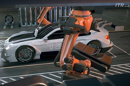 DTMが新しい電気自動車シリーズの構想を発表。産業用ロボがバッテリーを交換?