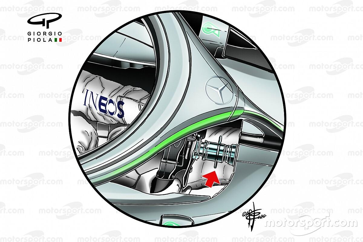 Los cambios que ayudaron a Mercedes a instalar el DAS