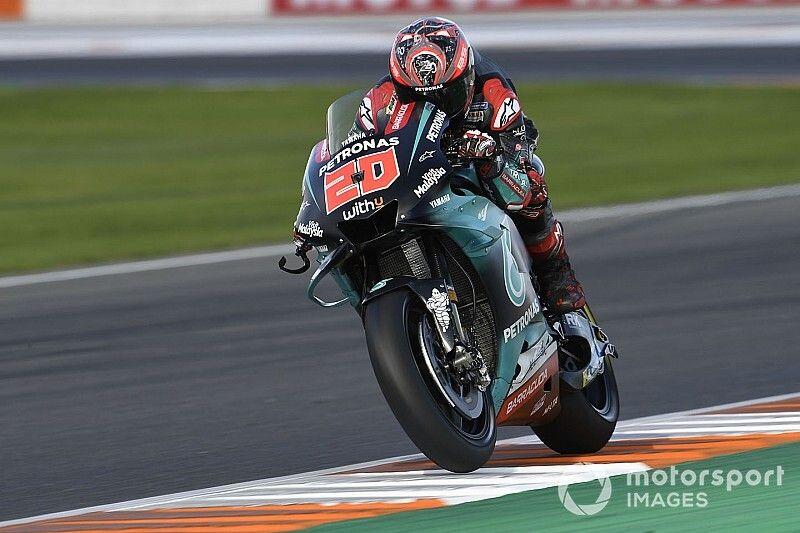 Valencia MotoGP: Quartararo stays on top in third practice