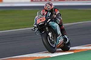 Valencia MotoGP: Quartararo stays on top in third practice