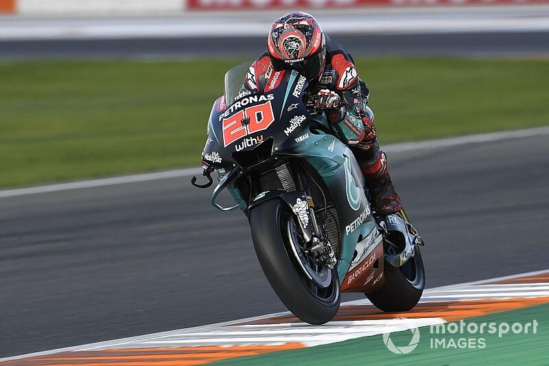 Valencia MotoGP 3. antrenman: Quartararo, Marquez'in önünde lider