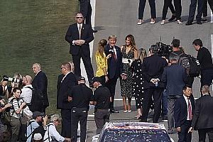 Vídeo: el show del presidente Donald Trump en la Daytona 500