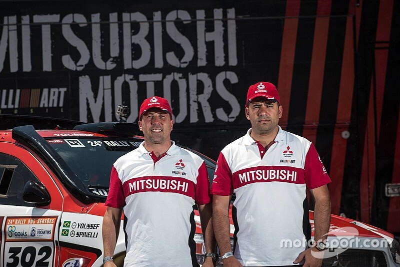 Guiga Spinelli e Youssef Haddad estreiam no Sul-americano de Rally Cross Country no Paraguai