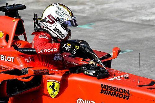 Vettel y Leclerc, muy calmados ante la prensa