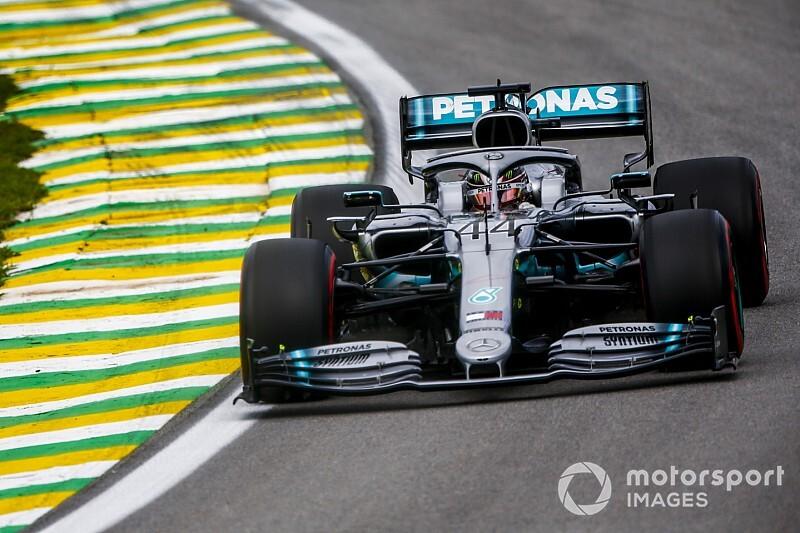 Hamilton lamenta la falta de velocidad de Mercedes en recta
