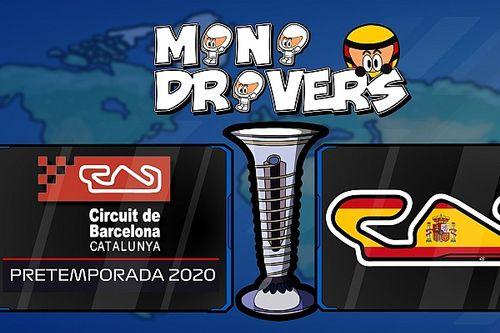 Vídeo: la pretemporada de la F1 2020, según MiniDrivers