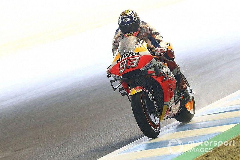 EL4 - Márquez le plus rapide en conditions mixtes