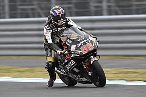 Moto2 in Japan 2019: Dixon im Regen Schnellster, Marquez mit Mega-Save