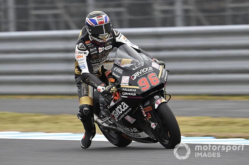 Moto2日本FP3:ディクソンがトップタイム。長島哲太、ウエット5番手で予選に向かう