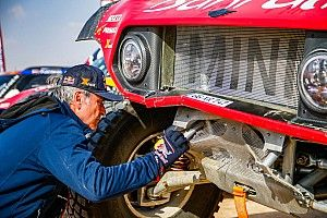 Sainz no siente nervios por el cierre del Dakar 2020