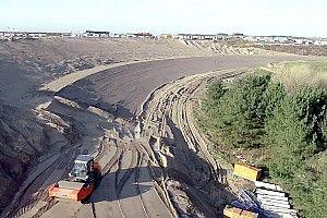 Zandvoort, çakıl alanları azaltacak