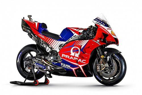 Ecco la nuova livrea delle Ducati del Pramac Racing