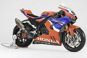 Honda przedstawiła barwy na WSBK