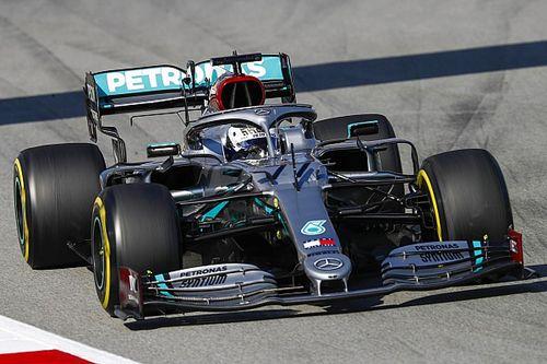 Piątkowy dublet Mercedesa