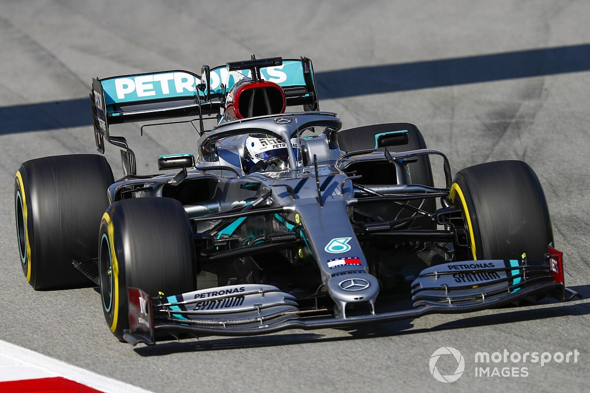 2020 Barcelona testi 3. gün: Bottas lider, Mercedes 1-2!
