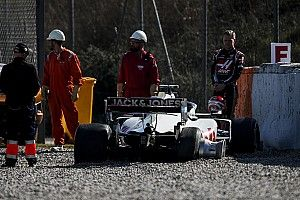 Haas нашла новую причину аварии Магнуссена
