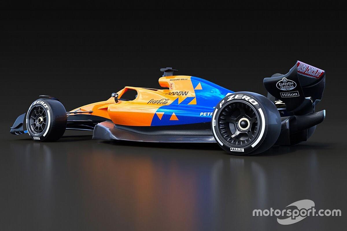 A McLaren is bemutatta a 2021-es F1-es illusztrációját