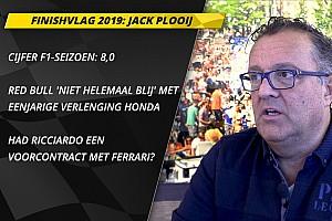 Finishvlag: Plooij over Verstappen, Honda en Ferrari-link Ricciardo