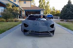 Működőképes Aventador-másolatot építettek 3D-nyomtatott karosszériával