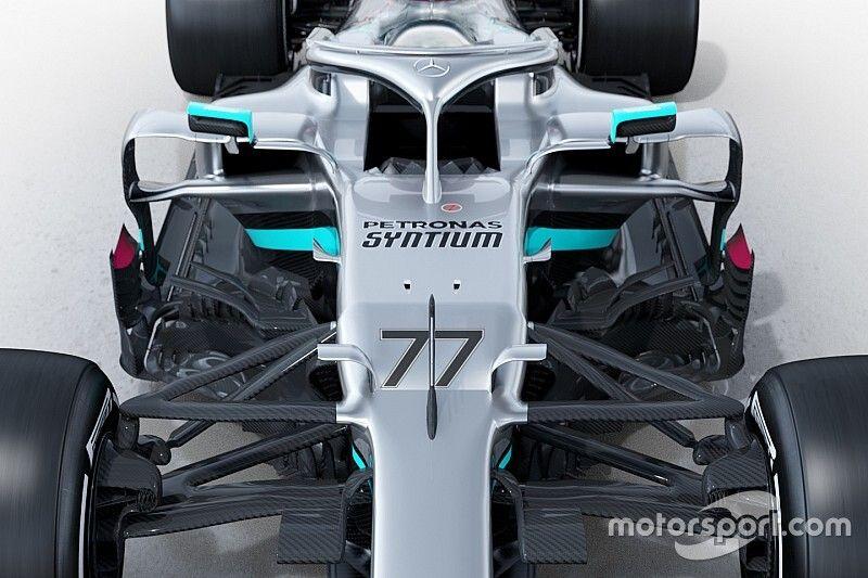 Fotos: el Mercedes W11 de 2020, desde todos los ángulos