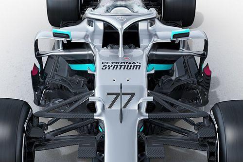 Les secrets des pontons ultra resserrés de la Mercedes W11