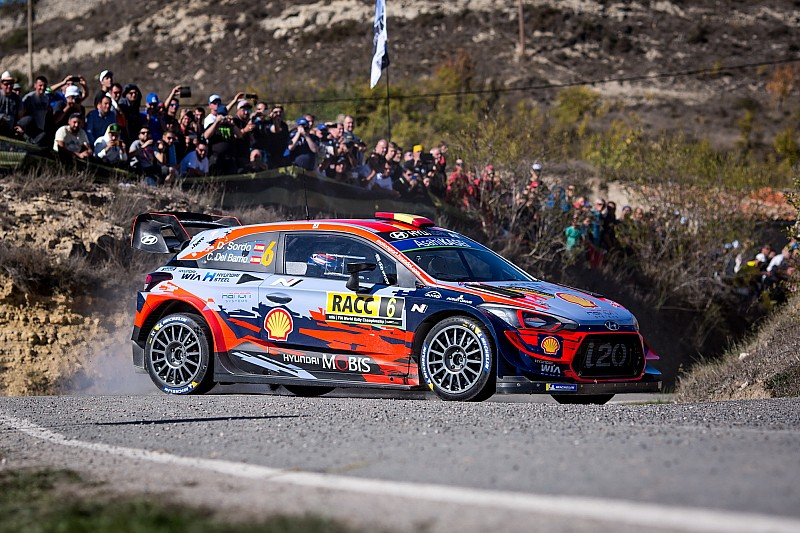 WRC, Rally di Catalogna, PS14: Sordo si difende bene da Tanak