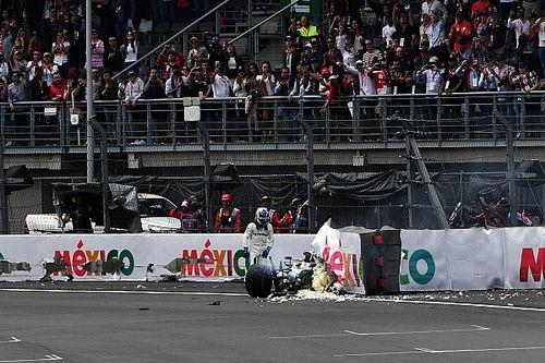 La FIA va revoir le placement des barrières Tecpro à Mexico