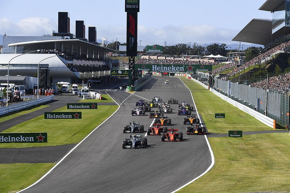 الفورمولا واحد تُعلن عن صفقة جديدة بثلاثة أعوام مع جائزة اليابان الكبرى في سوزوكا