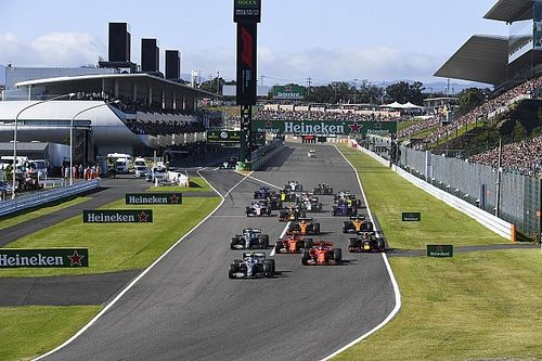 Japanese GP to start an hour earlier in 2020