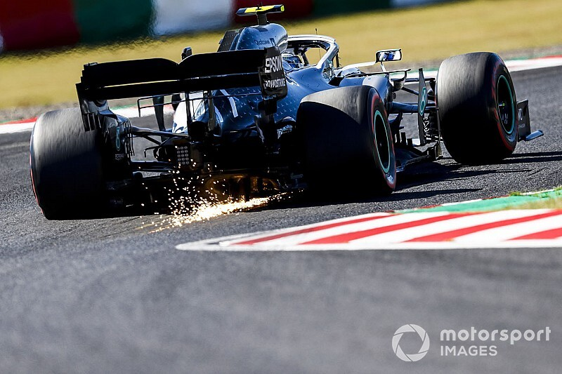 GP del Giappone: Bottas vince, Mercedes è campione!