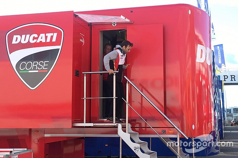 Zarco a rencontré la direction de Ducati