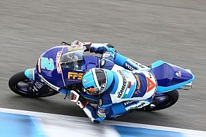 Test Moto3 Jerez, Giorno 2: Rodrigo leader, Antonelli ko