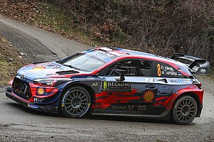 Tanak escapes massive crash in Monte Carlo rally