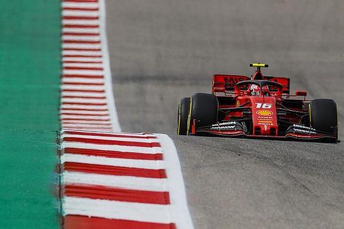 Ferrari explica queda na velocidade de reta em Austin