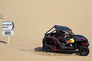 Fotos: Albon y Verstappen se adentran en las dunas