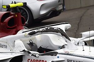 What Leclerc's Spa crash findings mean for the future of halo