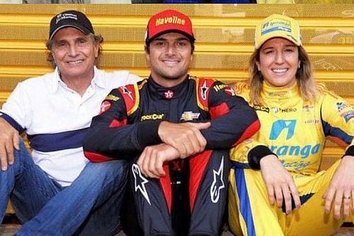Piquets e Bia Figueiredo refazem foto histórica em Goiânia