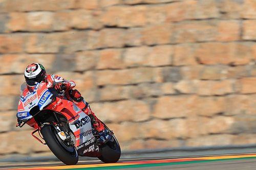 Aragon MotoGP: Lorenzo beats Dovizioso to pole, Rossi 18th