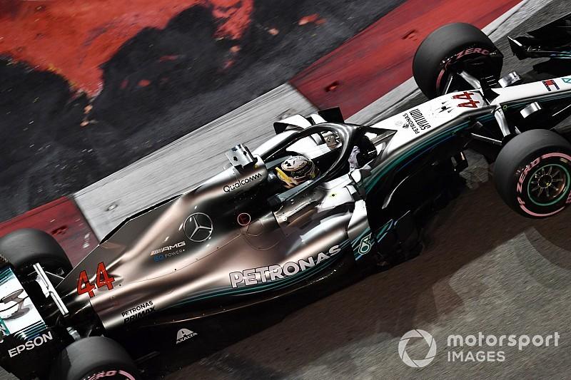 """Hamilton: Vettel karşısında """"çaylak hatası"""" yaptım"""