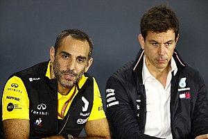 Renault vindt beschuldigingen over Ocon-situatie overdreven, Wolff boos