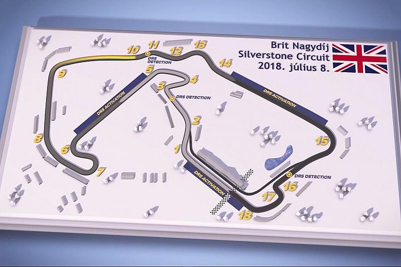 Magyar pályabemutató videó a Brit Nagydíjról: Silverstone