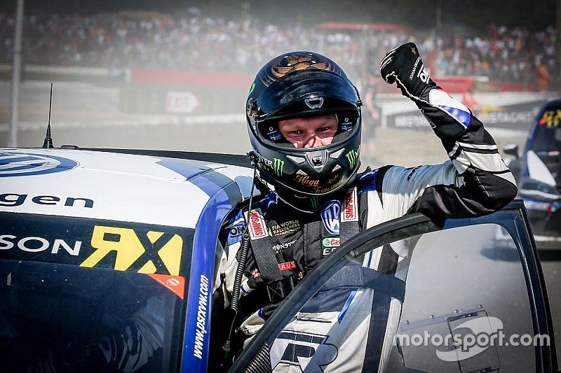 Austin World RX: Kristoffersson wraps up second title with win