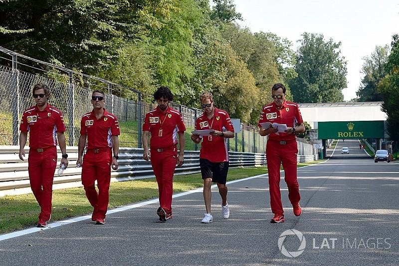 Fotogallery: l'Autodromo di Monza si prepara a ospitare il Gran Premio d'Italia 2018 di F1