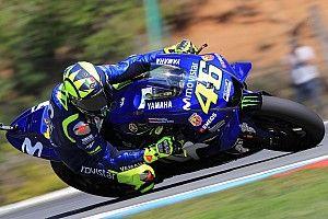 Brno MotoGP: Rossi tops FP3, Vinales to Q1